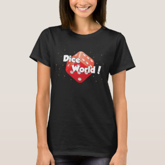 Würfel-Welt! Der T - Shirt der Frauen