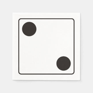 WÜRFEL-Zahlen von Zacken 2 + Ihr backgr. Serviette
