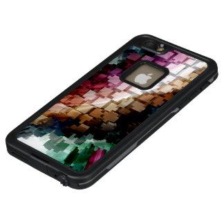 Würfel-zentraler dunkler Wind LifeProof FRÄ' iPhone 6/6s Plus Hülle