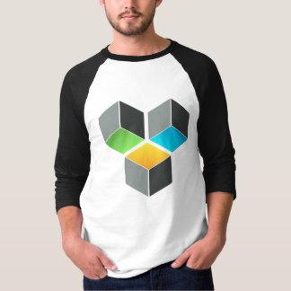 Würfel-Zusammensetzungs-T - Shirt