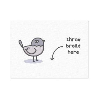 Wurfs-Brot hier Leinwanddruck