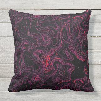 Wurfs-Kissen des Blut-rosa Feuer-Stein-1 SDL Kissen Für Draußen