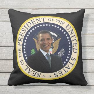 Wurfs-Kissen Obama im Freien Kissen