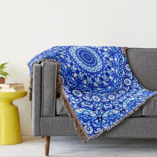 Wurfs-umfassende Mandala Mehndi Art G403 Decke