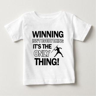 Wurfsspeerentwurf Baby T-shirt