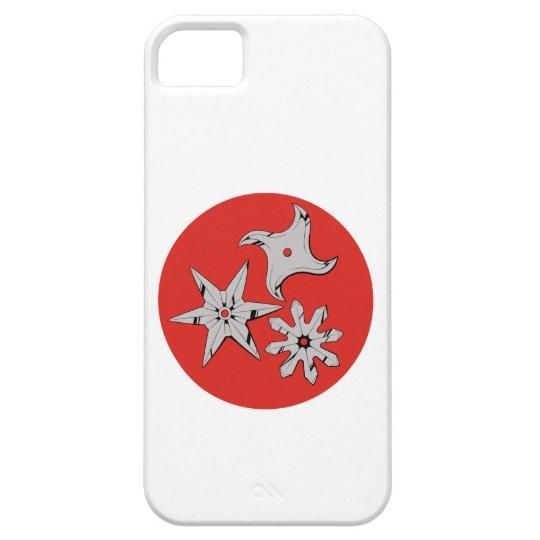 Wurfsterne Ninja shuriken iPhone 5 Schutzhülle