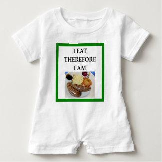 Wurst Baby Strampler