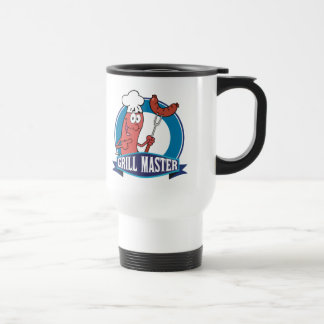Wurst-Grill-Meister Edelstahl Thermotasse