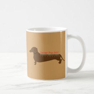Wurst-Hunderegel Kaffeetasse