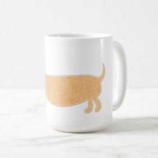 Wurst-HundeTasse Kaffeetasse