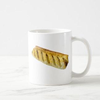 Wurst-Rollenkaffee-Tasse Kaffeetasse