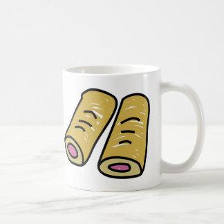 Wurst Rolls Kaffeetasse