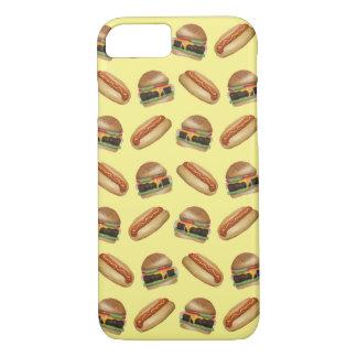 Würstchen-u. Hamburger-Telefon-Kasten iPhone 8/7 Hülle