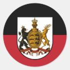 Württemberg Runder Aufkleber