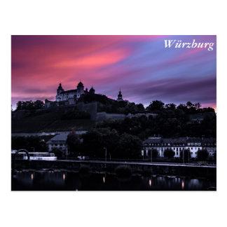 Würzburg, Deutschland Postkarte