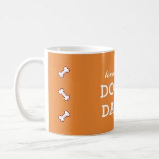 Würzige Orange des liebevollen Kaffeetasse