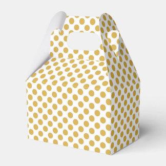 Würzige Senf-Tupfen Geschenkschachtel