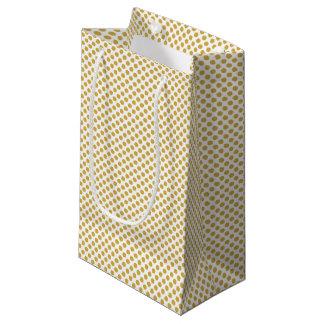 Würzige Senf-Tupfen Kleine Geschenktüte