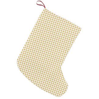 Würzige Senf-Tupfen Kleiner Weihnachtsstrumpf