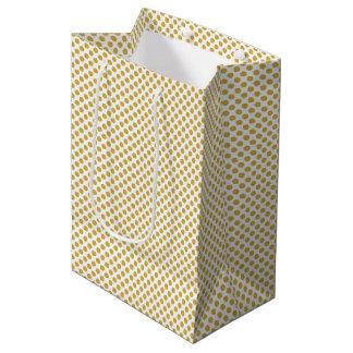 Würzige Senf-Tupfen Mittlere Geschenktüte
