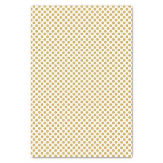 Würzige Senf-Tupfen Seidenpapier