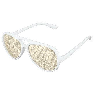 Würzige Senf-Tupfen Sonnenbrille