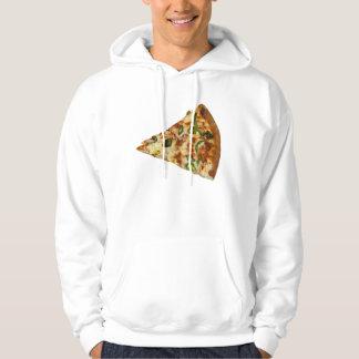 Würziger Pizza-ScheibeHoodie Hoodie