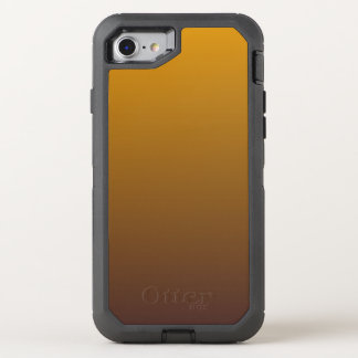 Würziges Gold Brown Ombre OtterBox Defender iPhone 8/7 Hülle