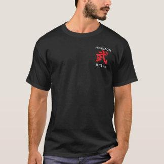 Wushu Klinge-Kämpfer T-Shirt