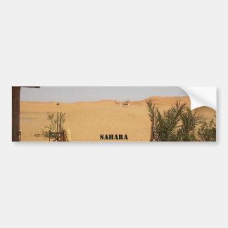 Wüste, Sahara Autoaufkleber