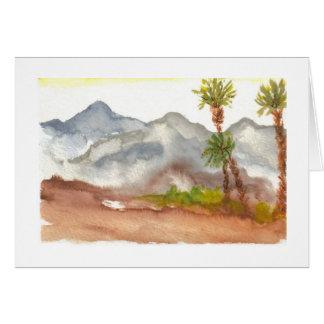 Wüsten-Berge Karte