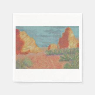 Wüsten-Berge Serviette