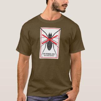 Wüsten-Bezirk für Menschen-nur Kamel-Spinne T-Shirt