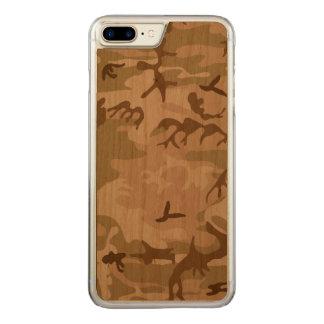 Wüsten-Camouflage - Brown-Tarnung Carved iPhone 8 Plus/7 Plus Hülle