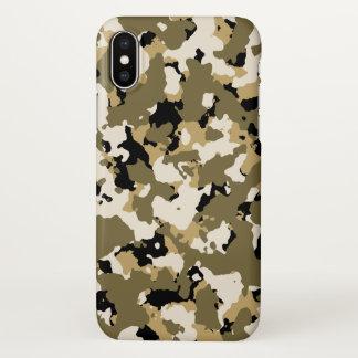 Wüsten-Camouflage iPhone X Hülle