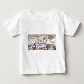 Wüsten-Freifrauen - Skeleton Entwurf Baby T-shirt
