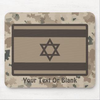 Wüsten-Israeli-Flagge Mousepad