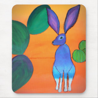Wüsten-Jack-Kaninchen Mousepad