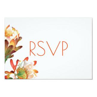 Wüsten-Kaktus-Blumen-Hochzeit UAWG 8,9 X 12,7 Cm Einladungskarte