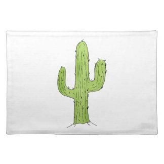 Wüsten-Kaktus-Entwurf Tischset
