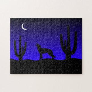 Wüsten-Nacht Puzzle