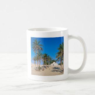 Wüsten nähern sich Douz Sahara Tunesien Kaffeetasse