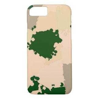 Wüsten-Oasen-Camouflage iPhone 8/7 Hülle