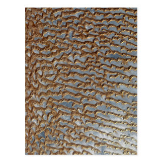 Wüsten-Sanddüne-Gelände Postkarte