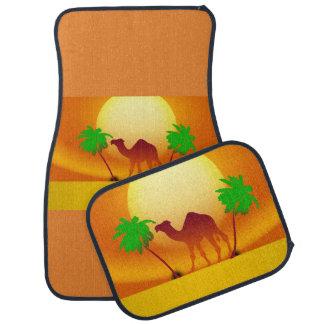 Wüsten-Sonnenuntergang-Auto-Boden-Matten (volles Automatte