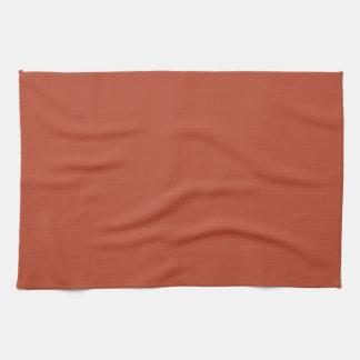 Wüsten-Ziegelstein-Farbe Handtücher