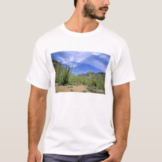 Wüstenkaktus am Orgelpfeife-nationalen Monument, T-Shirt