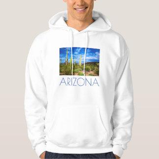 Wüstenkaktuslandschaft, Arizona Hoodie