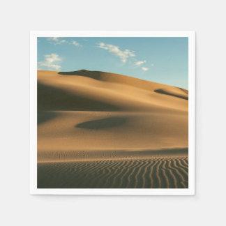 Wüstenlandschaft Serviette