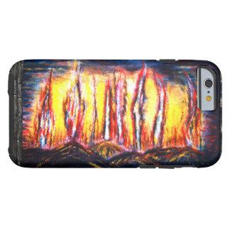 Wut-Feuer Tough iPhone 6 Hülle
